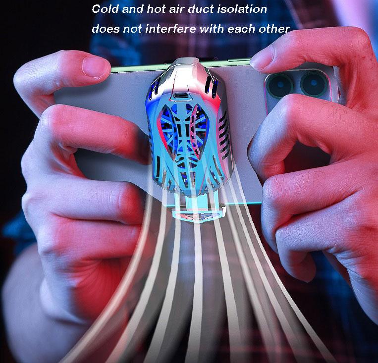 Mobile Phone Radiator Semi Conductor Cooling Artifact Water-Cooler black