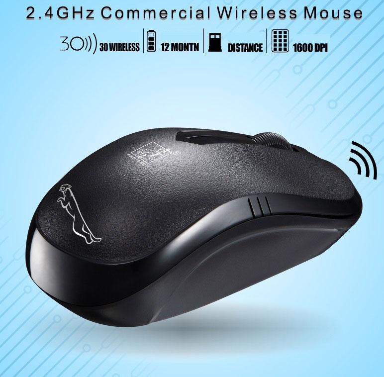 Mini Wireless Mouse101B USB Laptop Wireless Mouse black