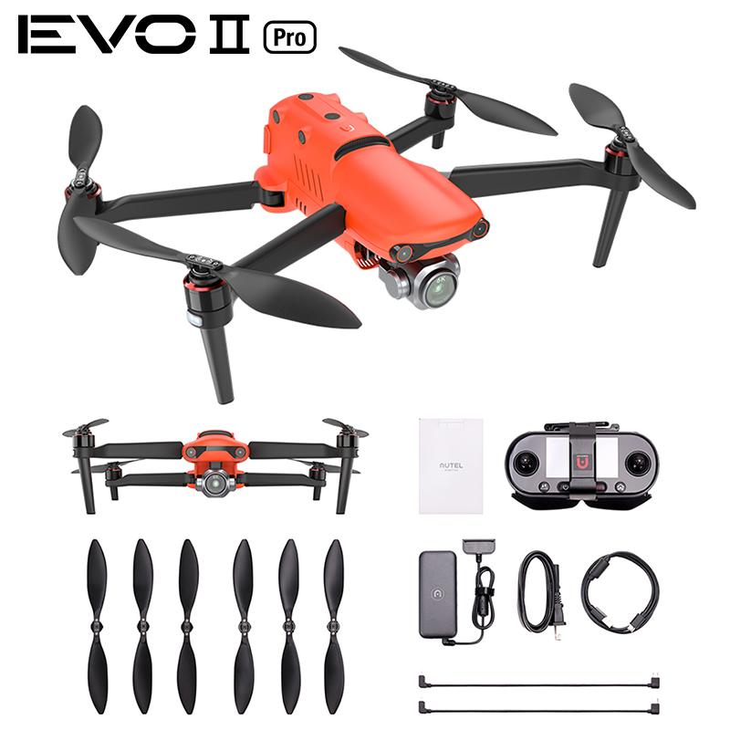 RC Drone Quadcopter for EVO 2 Series EVO II PRO Dual GPS 9KM FPV with 8K 48MP / 6K HD Camera 40mins Flight Time  EVO II PRO (6K)