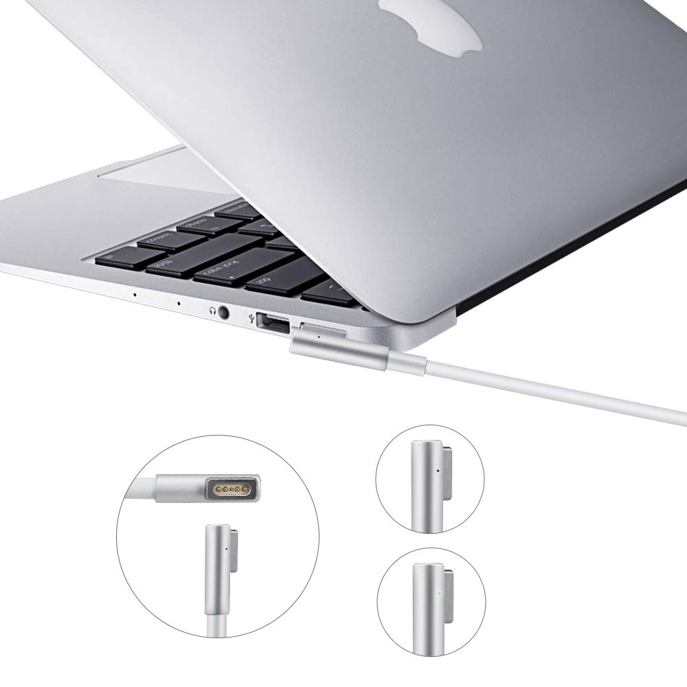 For MacBook Air 11 13 Inch AC 45W Magnetic Magsafe1 Shape Connector Power Supply Cord Charger Adapter AU plug