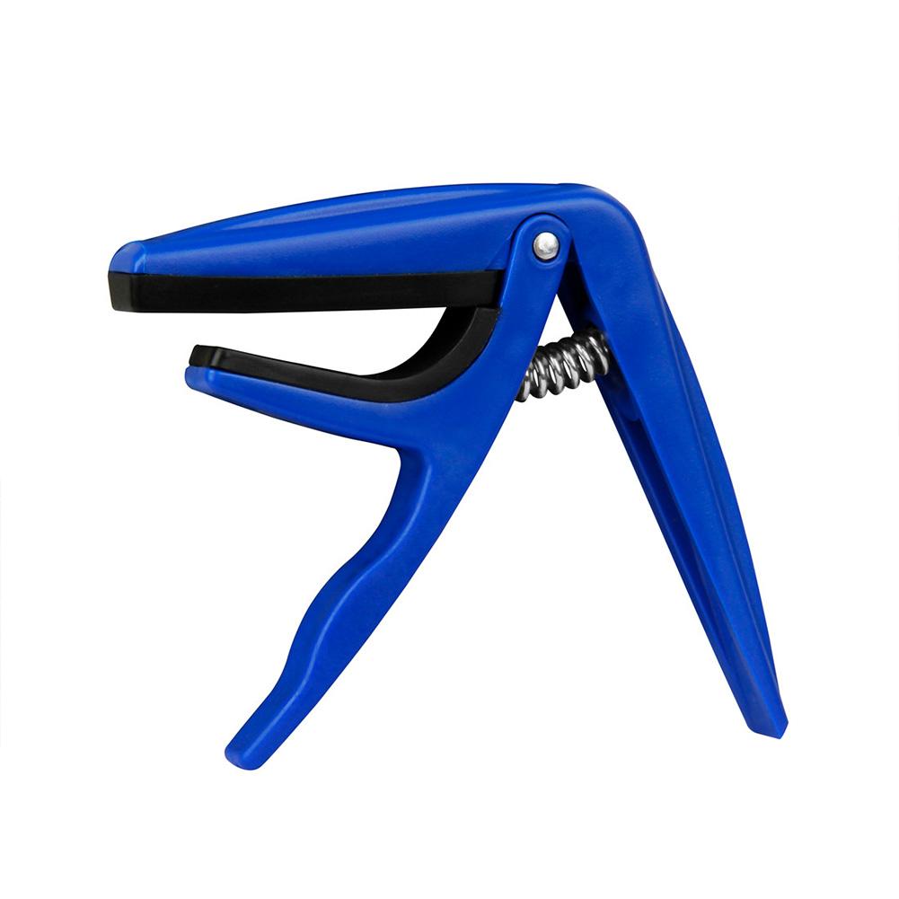 Ukulele Tune Quick Change Capo Key Clamp Dark blue_Ukulele