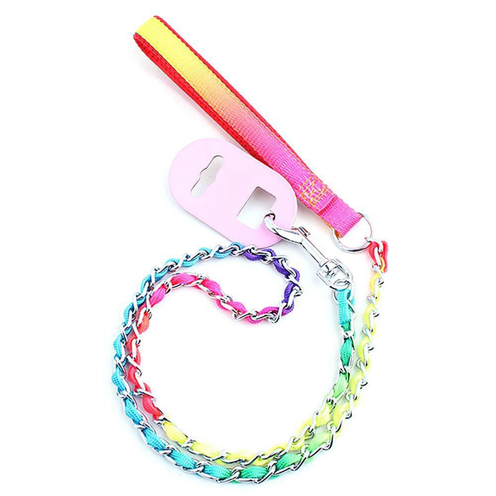 Exquisite Colourful Dog Leash Traction Belt Pet Harness Straps