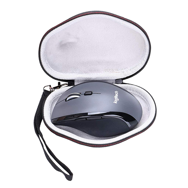 EVA Hard Case for Logitech M720 M705 Wireless Mouse Travel Protective Carrying Bag black