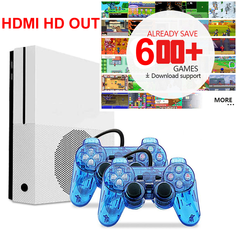 HD TV Game Consoles with 2 USB Joystick