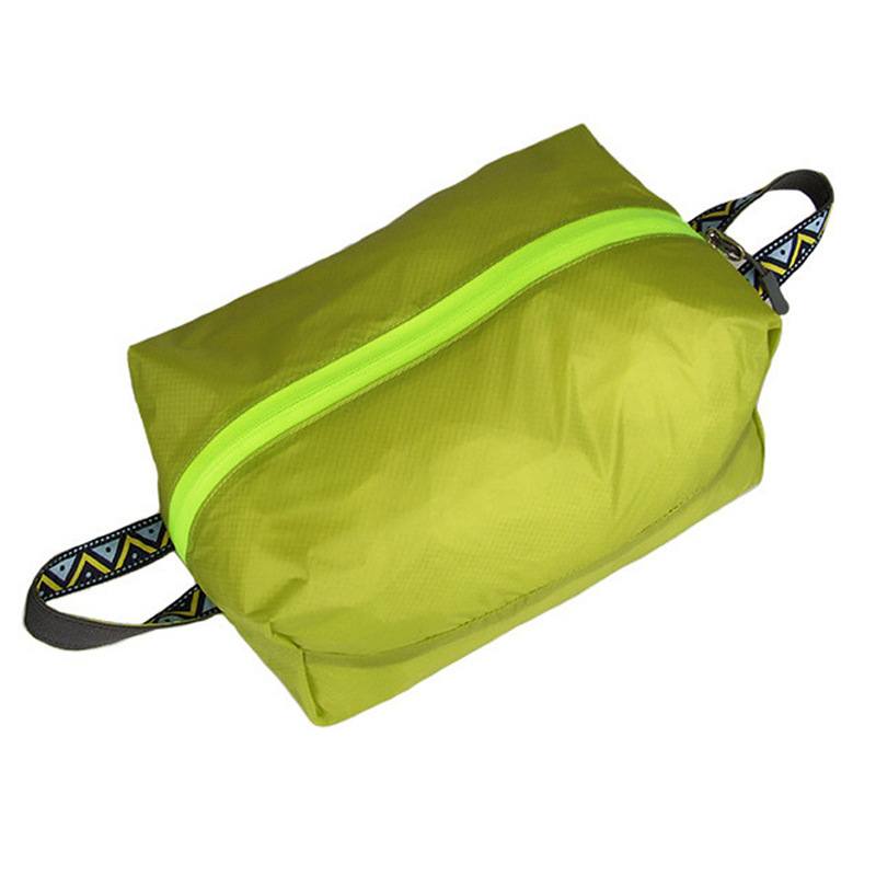 Outdoor Travel Light Shoes XL Storage Bag Portable Waterproof Laundry Storage Bag Wash Bag Green_XL
