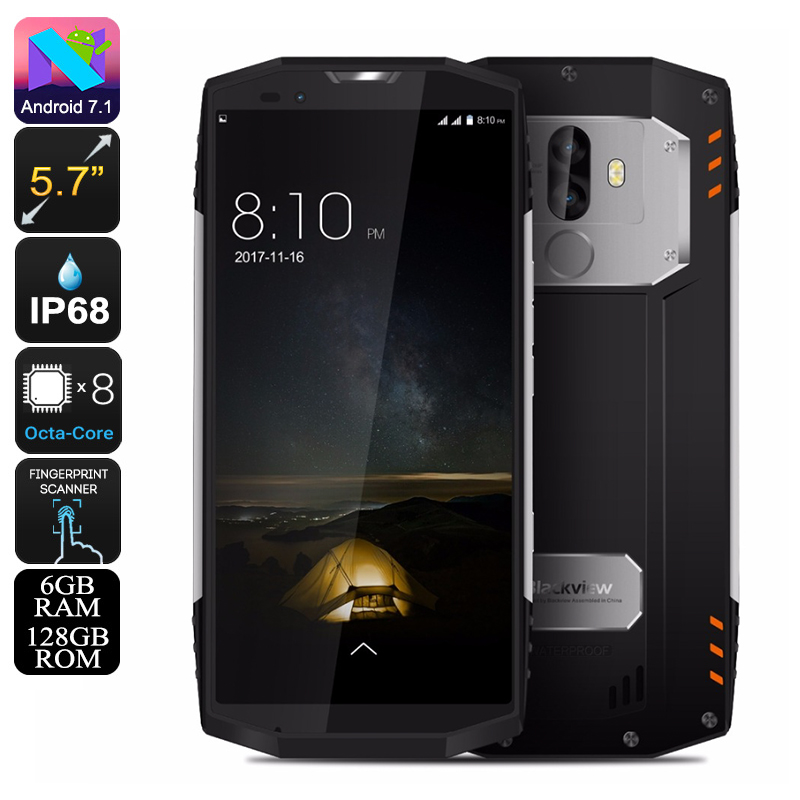 Blackview BV9000 Pro Rugged Phone (Silver)