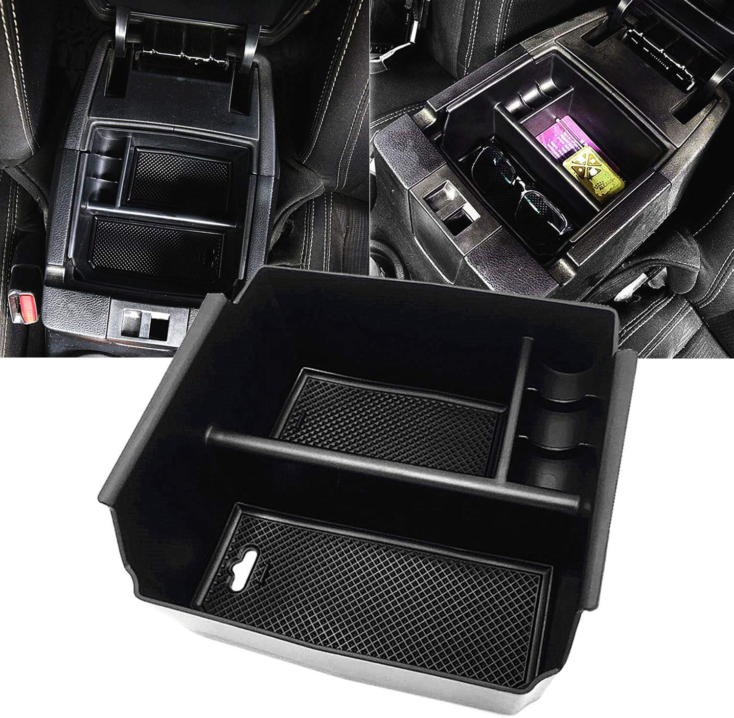 Car Center Console Organizer Tray Organizer Box for Jeep Wrangler JK 2011-2018