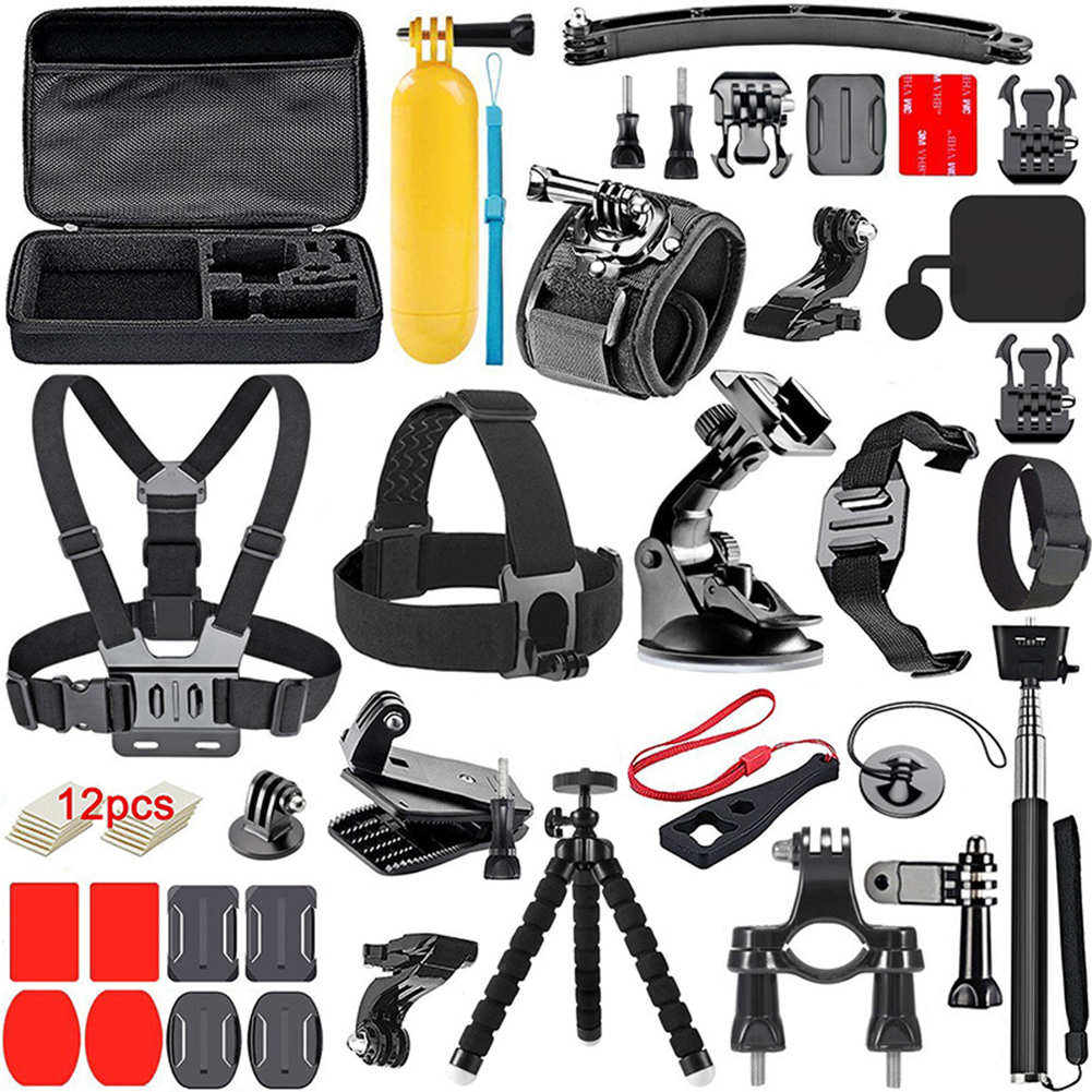 Portable Professional Accessories Set for Gopro Camera Mount Kit