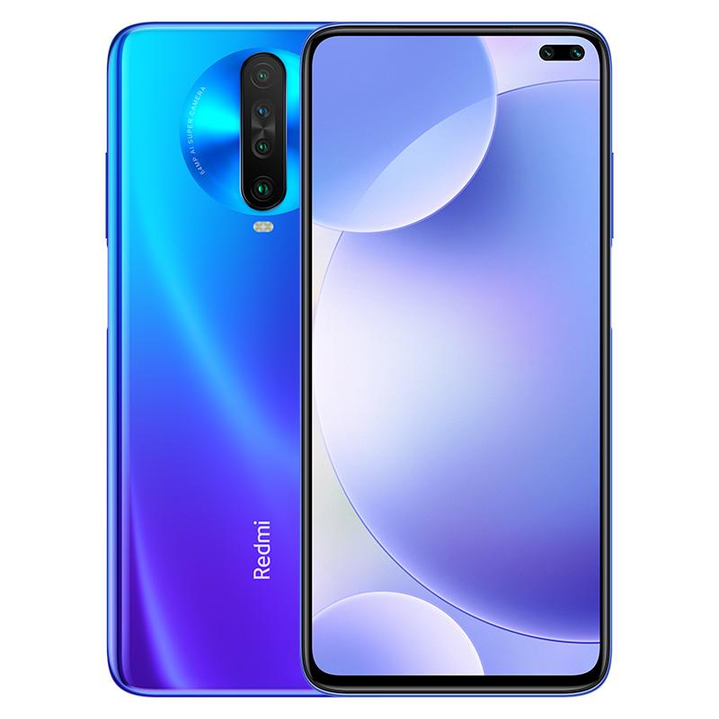 Original Xiaomi Redmi K30 Global Rom WIFI Bluetooth 5.0 GPS OTG Game Turbo 2.0 Xiaomi Fast Charging Smartphone blue_8 + 256G