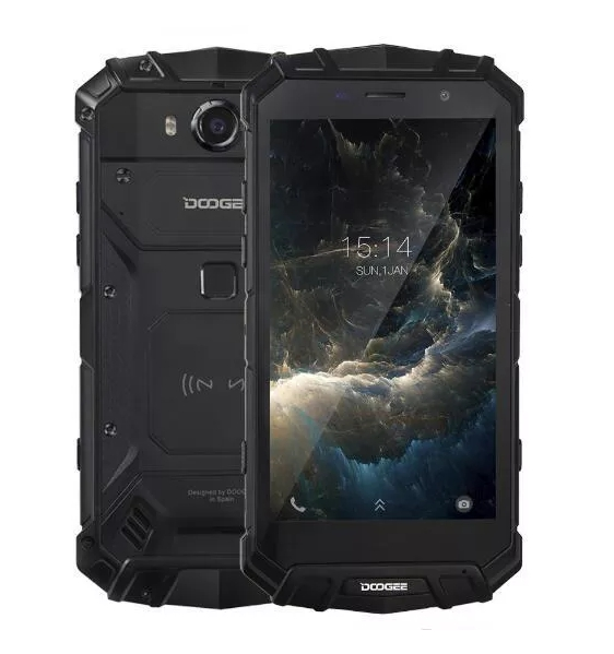 Doogee S60 Rugged Android Phone (Silver)