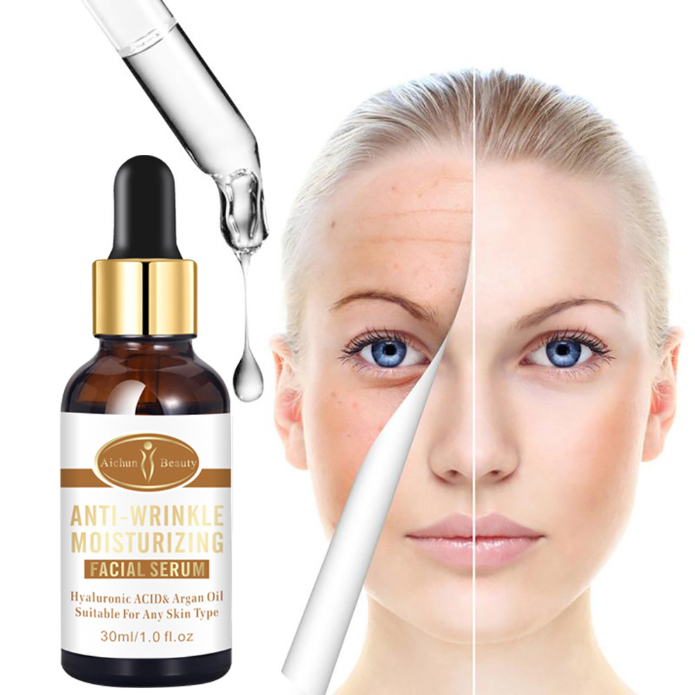 Anti-wrinkle essence facial fluid Moisturizing Firming Whitening Essence Dry Rough Women Skin Care 30ml