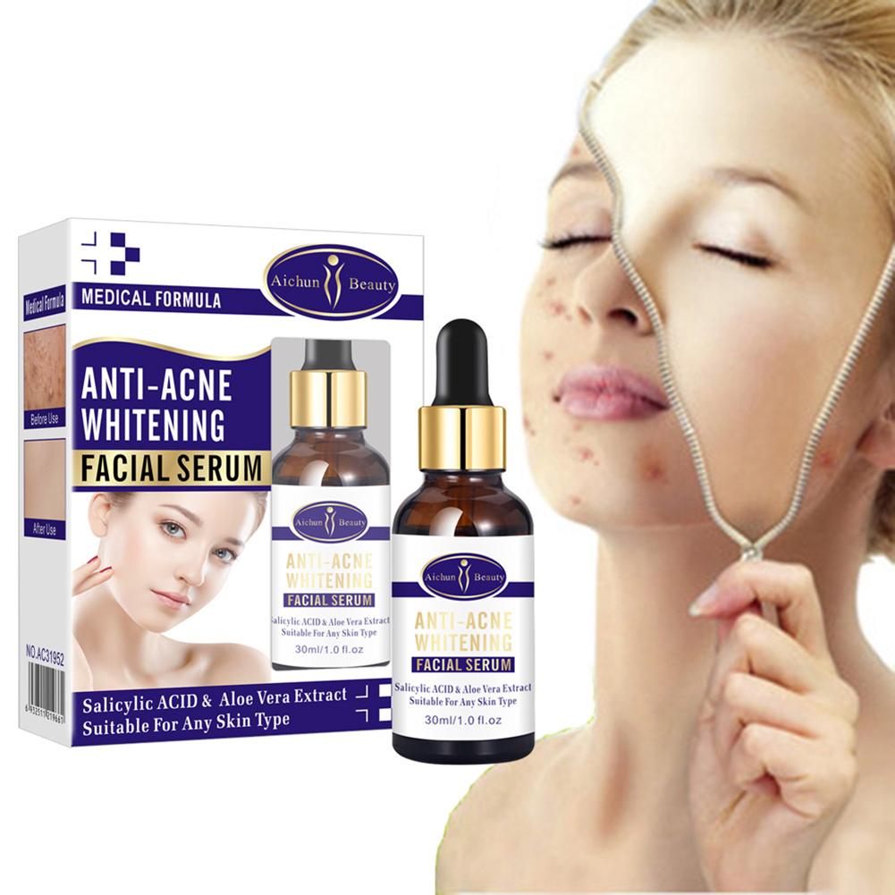 Shrink Pores Serum Pore Tightens Refining Moisturizing Essence Facial Essence Skin Care 30ml