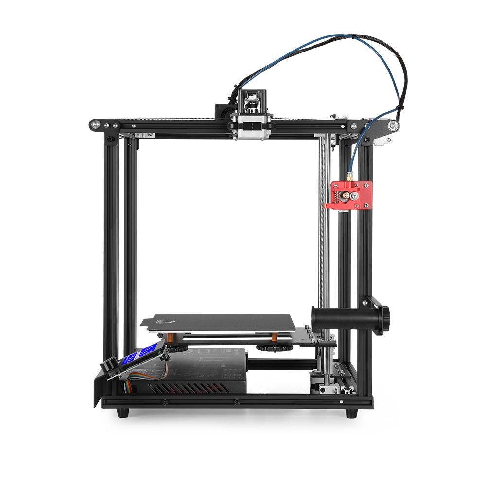 3D Ender-5 Pro Upgraded 3D Printer Pre-installed Kit Black EU Plug black_U.S. regulations
