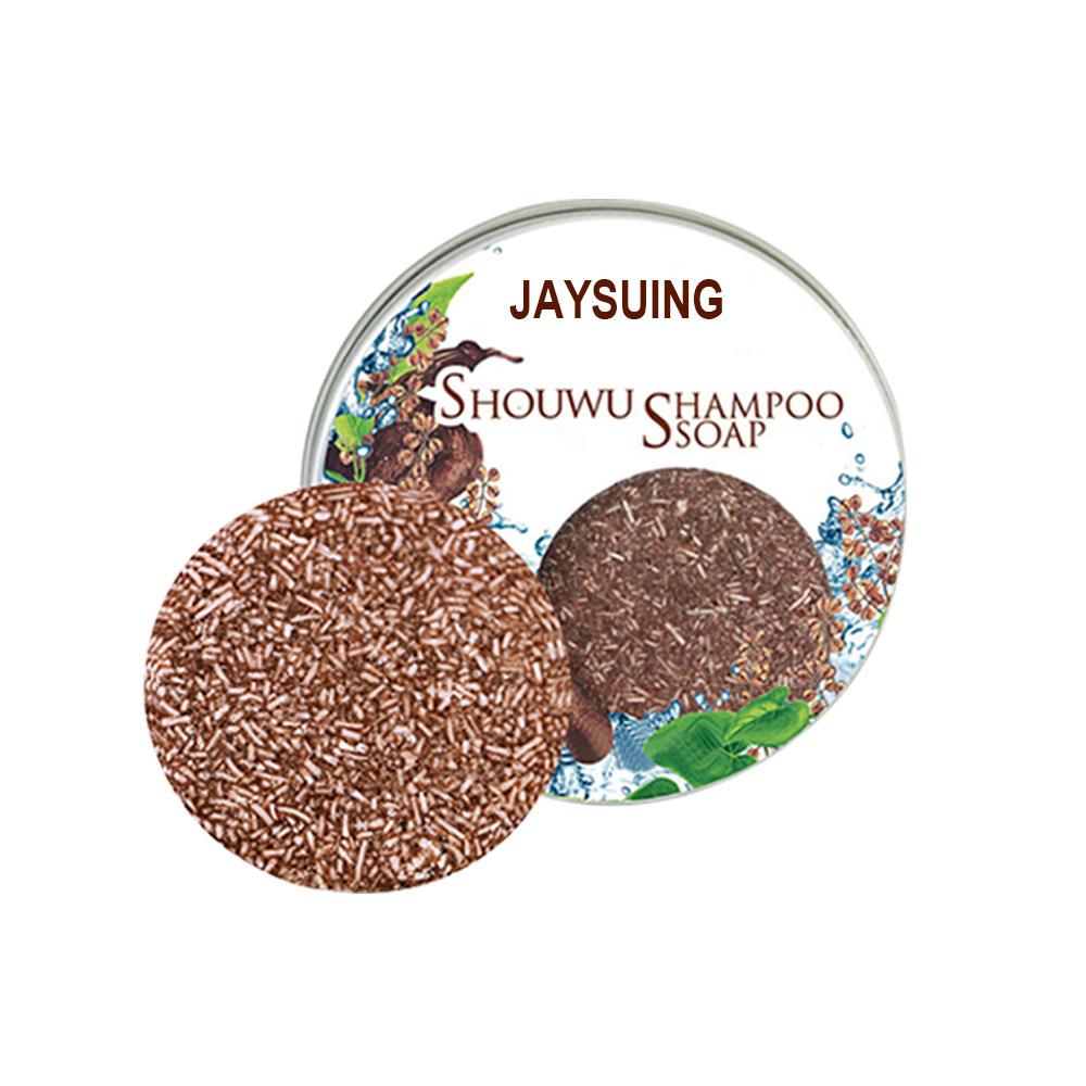 Polygonum Multiflorum Shampoo Hair Darkening Shampoo Bar Natural Organic Conditioner And Repair Care Solid Shampoo Polygonum multiflorum