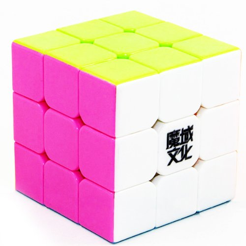 [EU Direct] Portable Candy Color 3x3 Magic Puzzle Cube High Speed Smart Cube Intellectual Development Toys