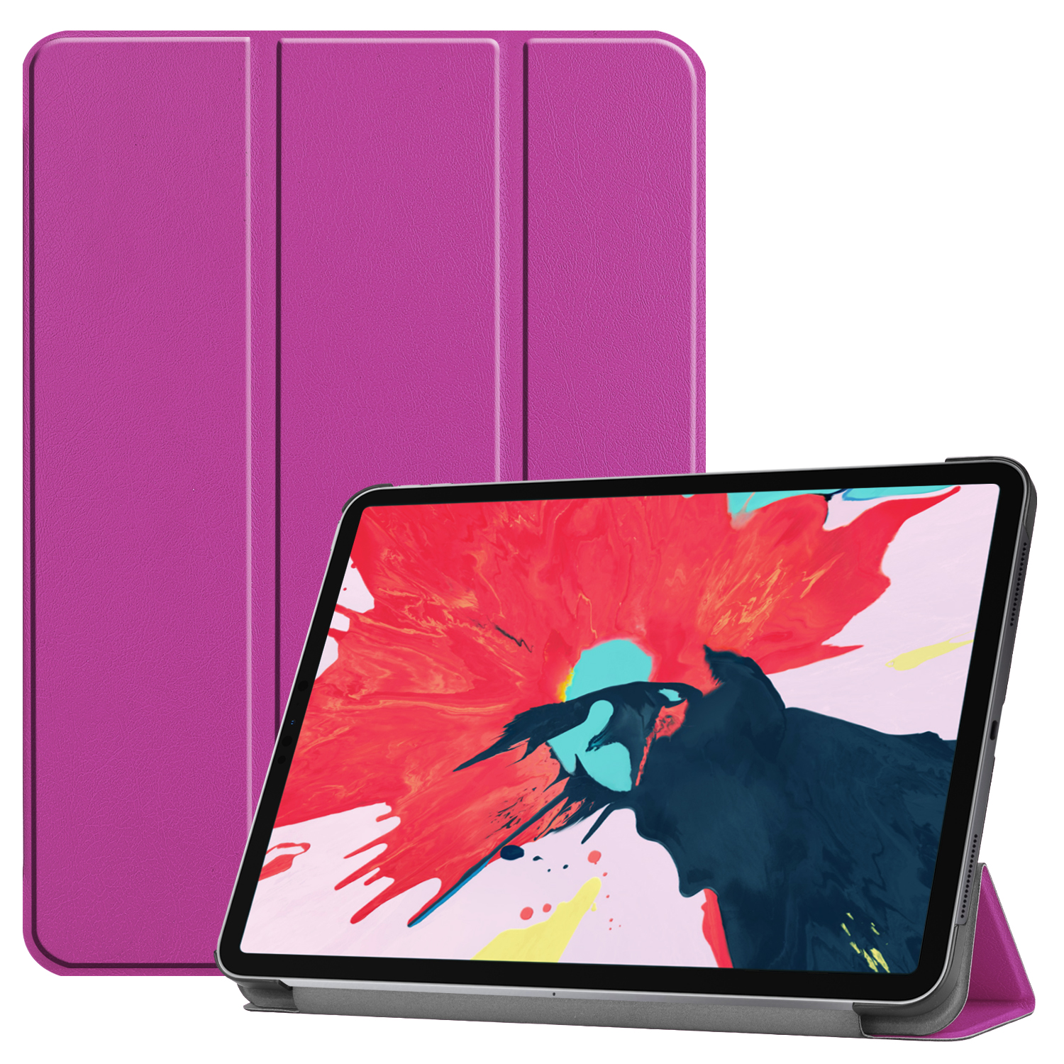 Tablet PC Protective Case Ultra-thin Smart Cover for iPad pro 11(2020) purple