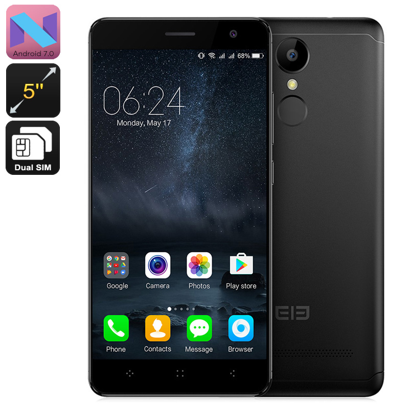 Elephone A8 Android Smartphone (Black)