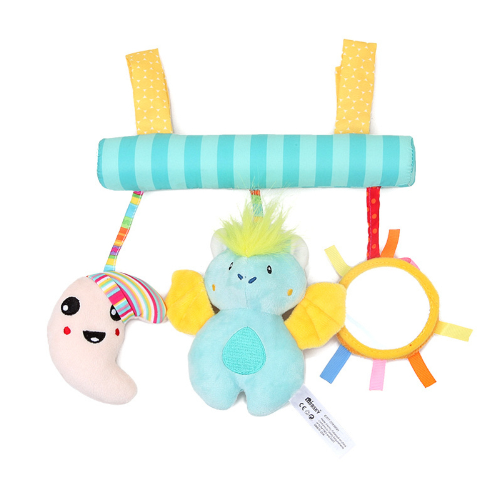 Cartoon Music Plush Doll Toy Hanging Pendant for Baby Infants Bed Crib