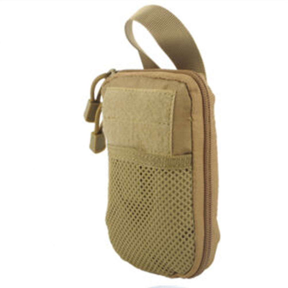 Outdoor Sports Medical Portable Pouch Arm Waist Bag Storage Bag mud color_18*12*2