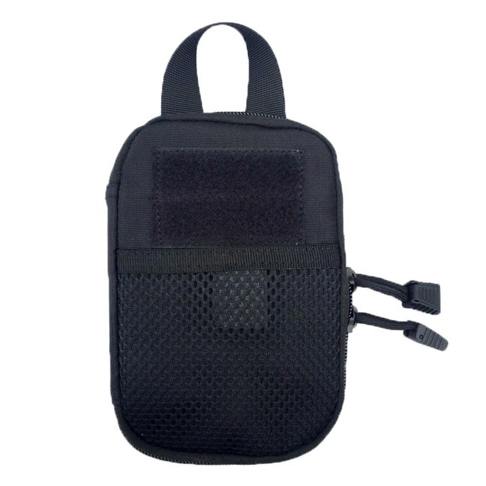 Outdoor Sports Medical Portable Pouch Arm Waist Bag Storage Bag black_18*12*2