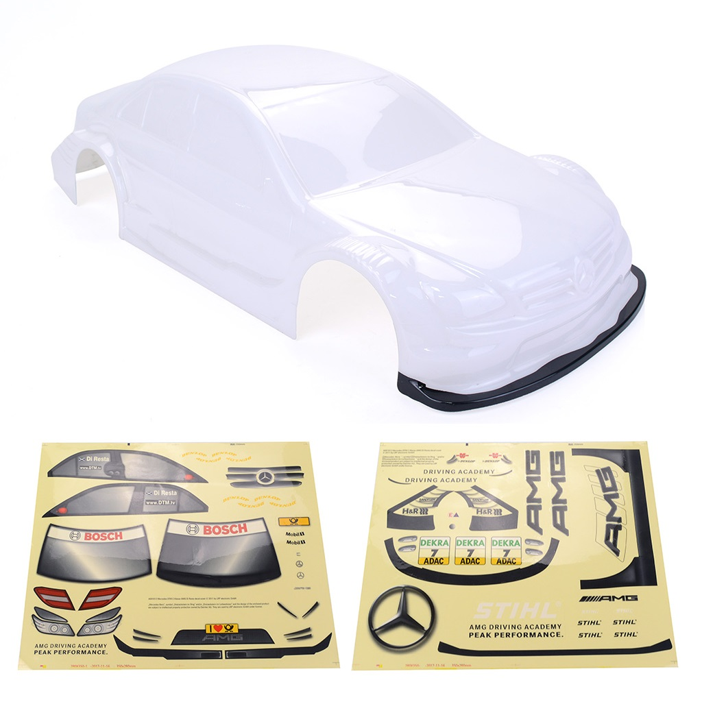 1/10 RC Drift Car On-road Car PC Body for Yokomo Touring Car Tamiya HPI Kyosho HSP Redcat FS ACME LRP White_1/10