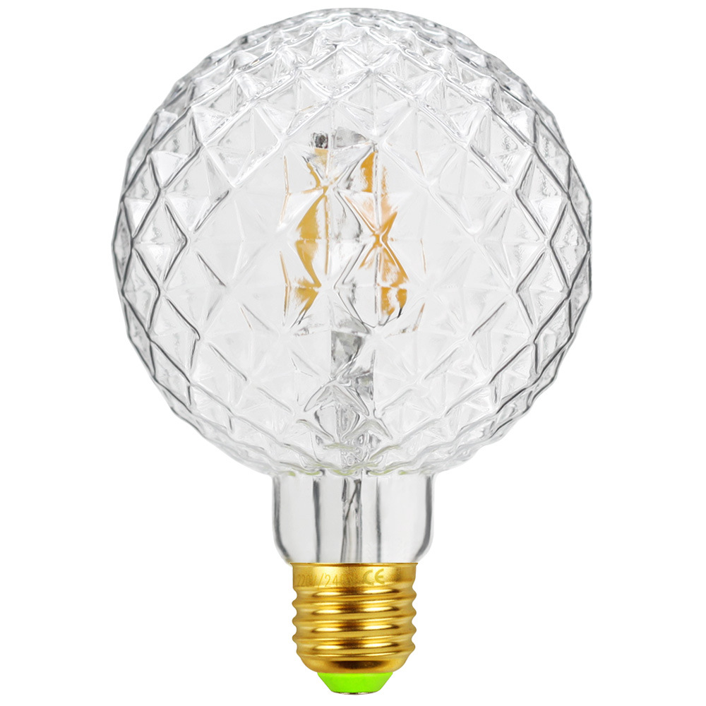G95 Led Lamp Retro Filament Lights Bulb Decoration for Resturant Bar Milk Tea Shop 220V 4W E27