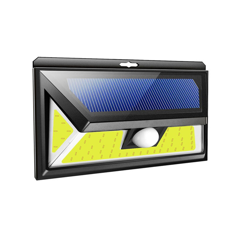 76LEDs COB Solar Lamp Motion Sensor Wall Light Waterproof Emergency Garden Yard Lamps White light_small