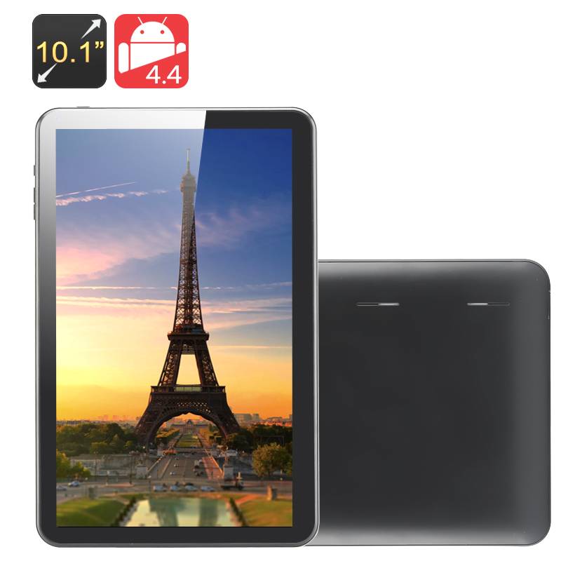 10.1 Inch Quad Core Tablet PC 'Kappa' (Black)