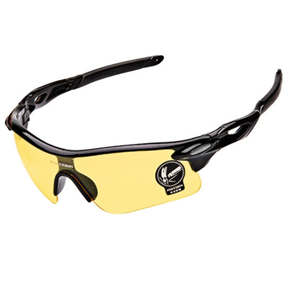 Unisex Anti-UV  Glasses Cycling Goggles Sports Riding Sunglasses