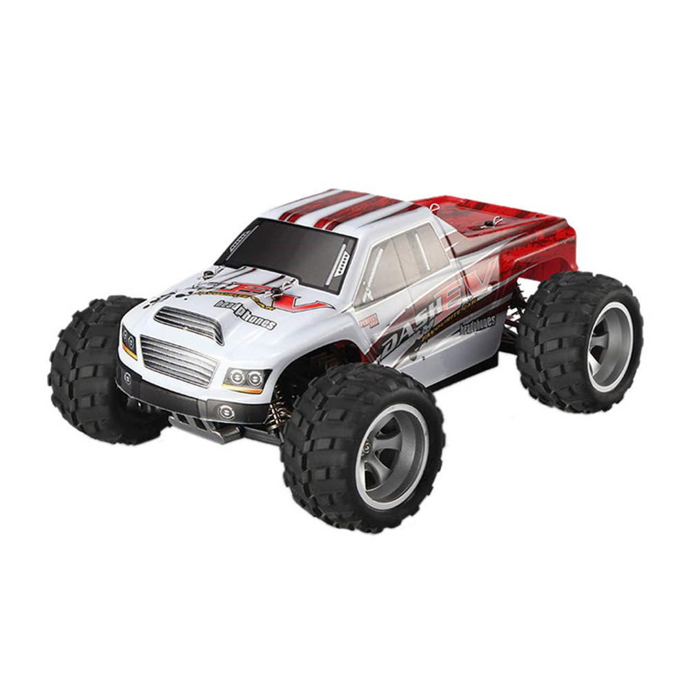 WLtoys A979-B 1/18 High-speed Off-road Vehicle Toy Professional Racing Sand Remote Control Car red_A979-B