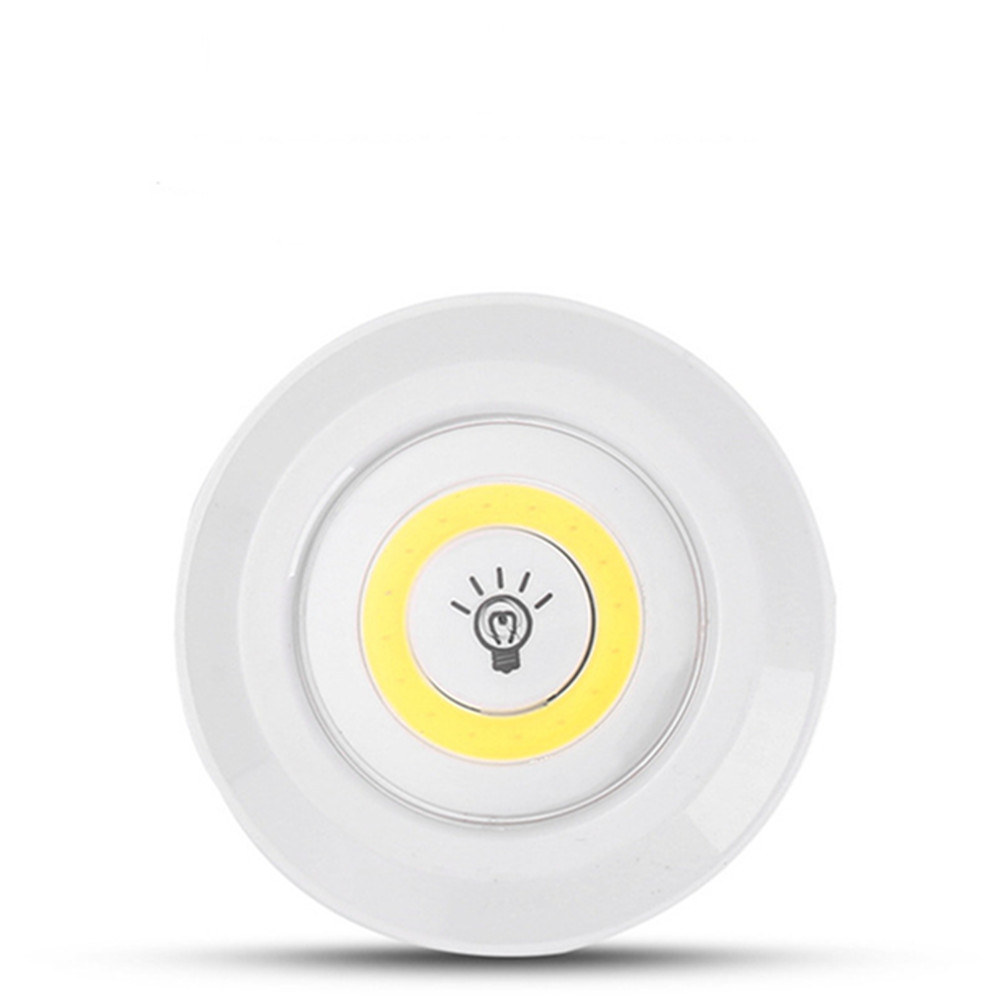 COB Dimmable LED Touch Control Night Light for Under Cabinet Wardrobe Bedside Nursing Warm White_Single light