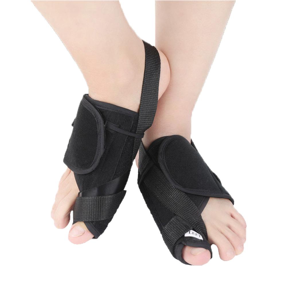 Big Toe Hallux Valgus Orthosis Tourmaline Heater Corrector Women Big Toe Separator black_S (30-36)