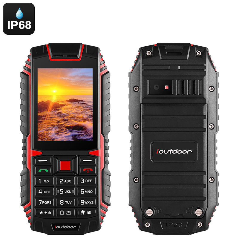 iOutdoor T1 Rugged Phone (Red)