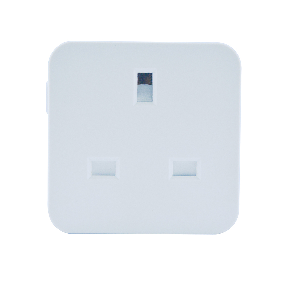 Square Wifi Switch Timing UK Socket for Alexa