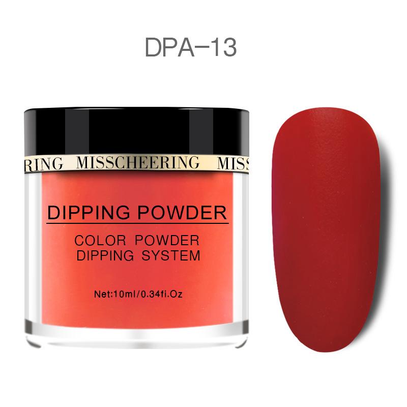 Matte Color Manicure Powder Nail Dipping Powder Nail Art Decorations  13