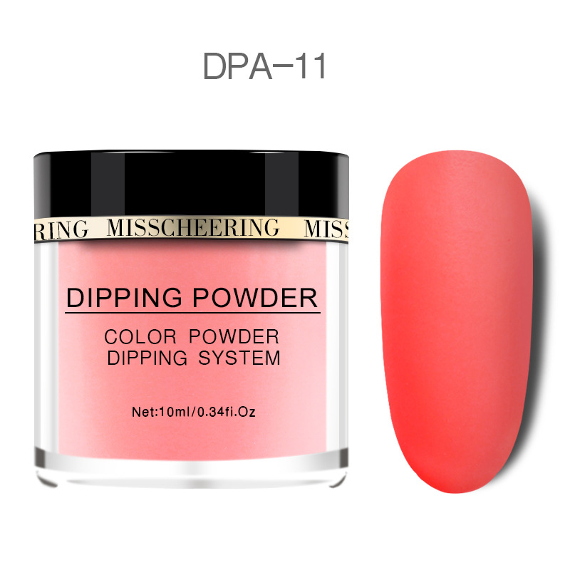 Matte Color Manicure Powder Nail Dipping Powder Nail Art Decorations  11