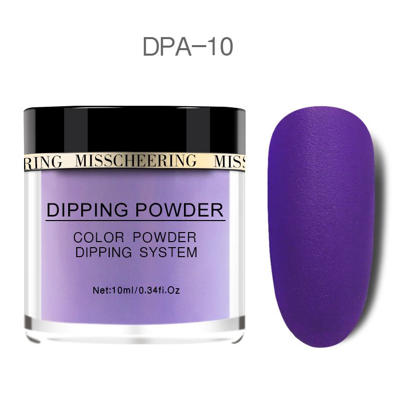 Matte Color Manicure Powder Nail Dipping Powder Nail Art Decorations  10