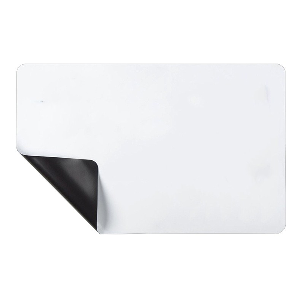 A3 Flexible Waterproof Children Drawing Magnetic Board Cooler Refrigerator Magnet Notepad A3 rounded corners