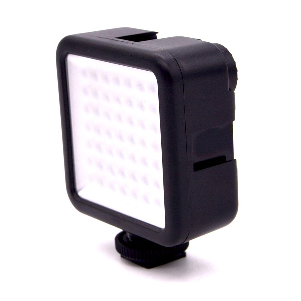 VELEDGE 49 LEDs Video Light Lamp for Canon Nikon Pentax DSLR Camera Camcorder  black