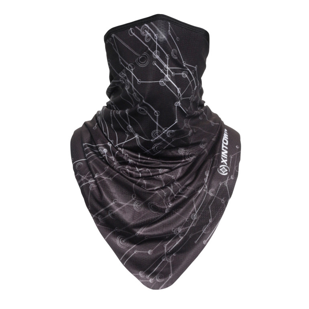 Facecloth Sport Triangle Scarf Cycling Hiking Camping Running Bike Bicycle Half Face Mask A_Free size