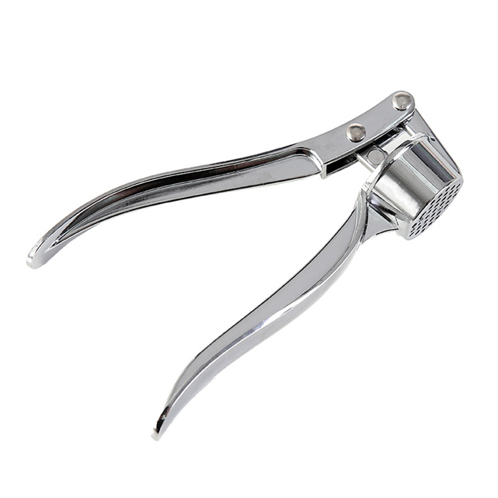 Manual Zinc Alloy Garlic Press for Kitchen Cooking Tools As shown
