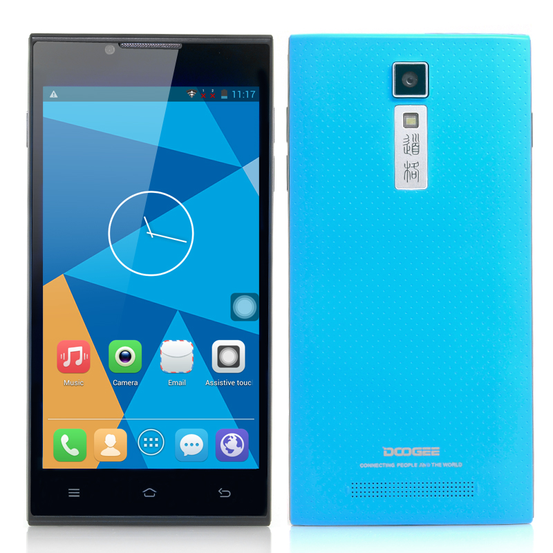 DOOGEE DG2014 Quad Core Android Phone (Blue)