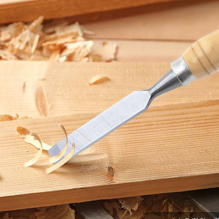 12Pcs/Set Wood Carving Chisel Set Professional  Woodworking Hand Cutter Tools Gouges Steel DIY Woodcut Working 12 pieces / set