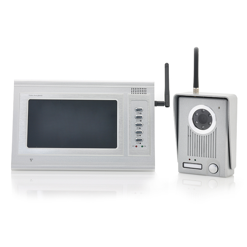 Wholesale video door phone camera monitor from china for Door video camera