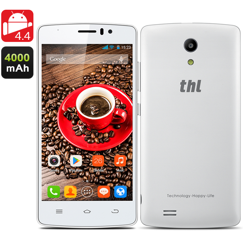 THL 4000 Quad Core Phone (White)