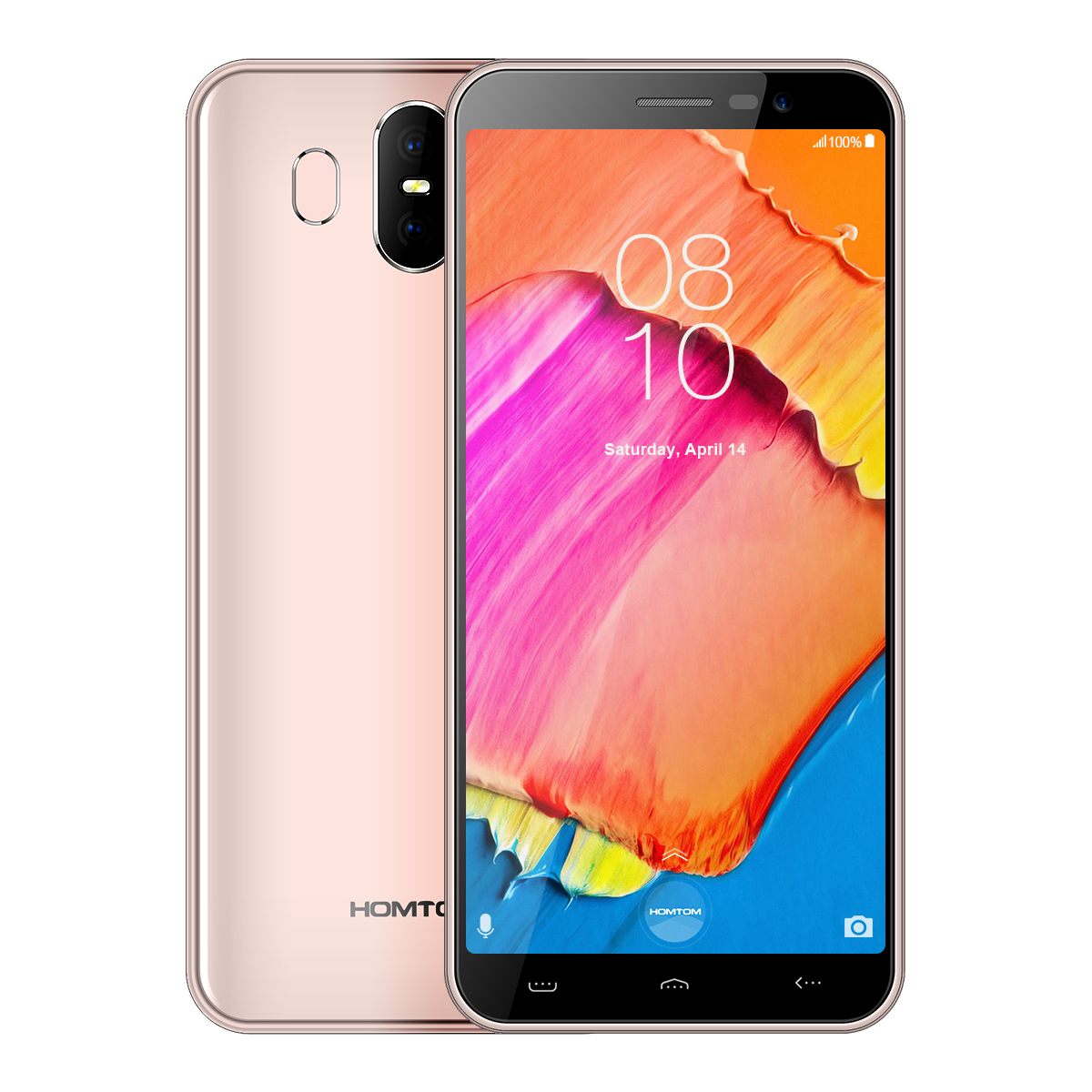 HOMTOM S17 2+16GB Smartphone Gold