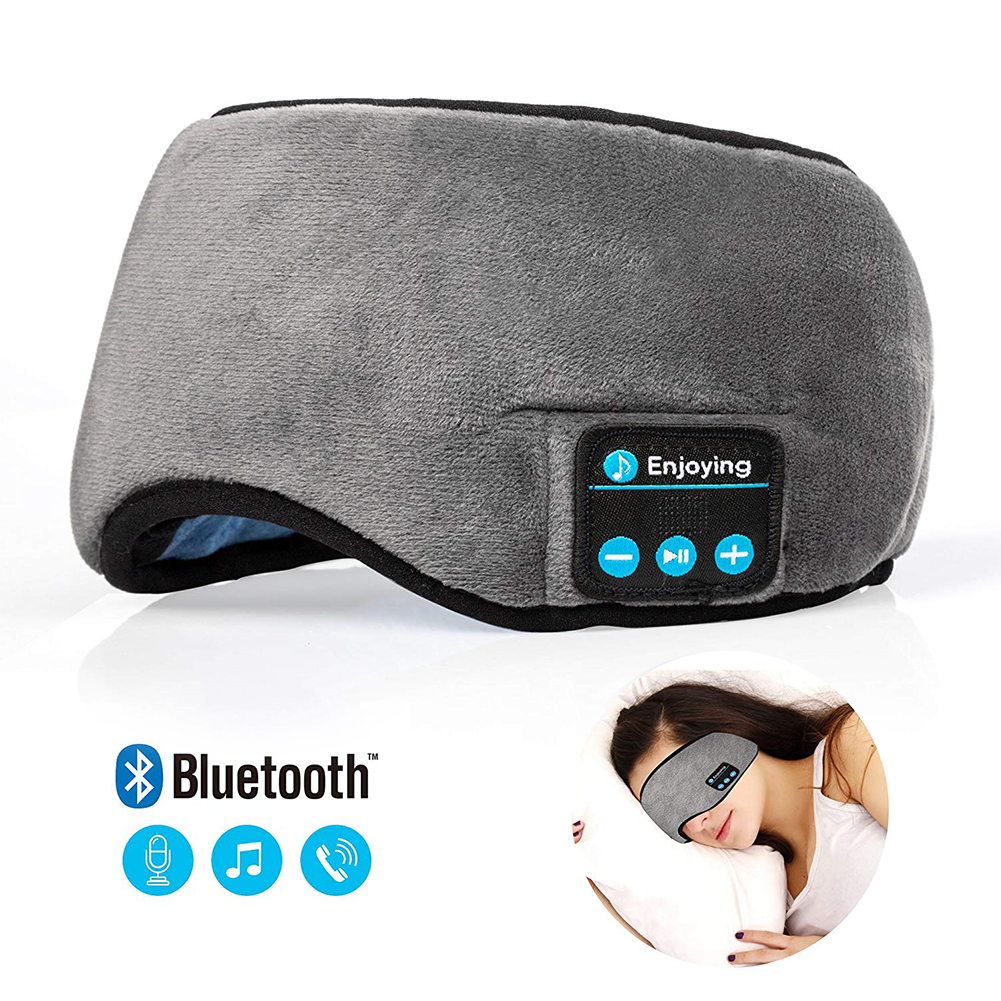 Travel Sleeping Headphone Eye Mask