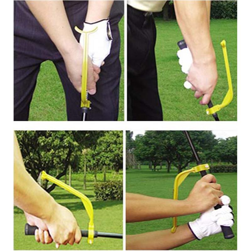 Golf Swing Correct Wrist Trainer Guide Gesture Golf Training Aid Tool