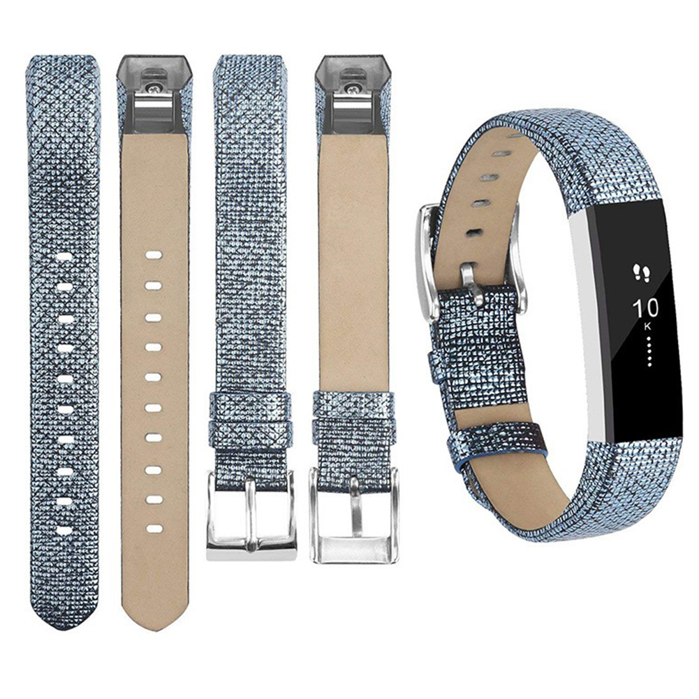 For Fitbit Alta Watch Band Wrist Strap Color Intelligent Heart Rate Replacement Watch Band blue