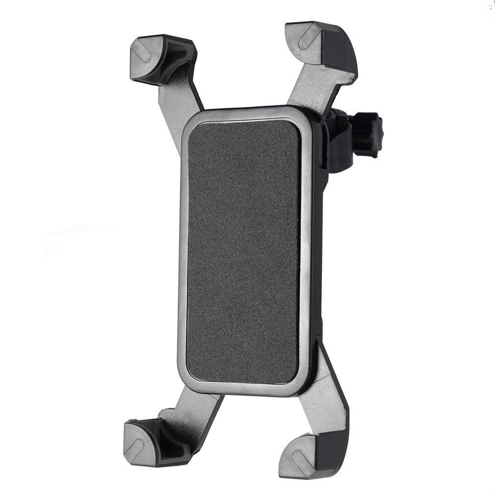 Motorcycle Handlebar Cell Phone Holder 360° Rotatable Mobile Phone Bracket for Bike Electrombile